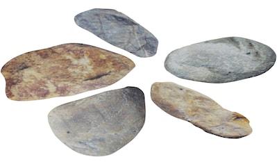 MYSPOTTI Duscheinlage »Klebefliese stepon Kieselsteine«, Set 5 - teilig, Antirutsch - Aufkleber, BxH: 35 x 30 cm kaufen