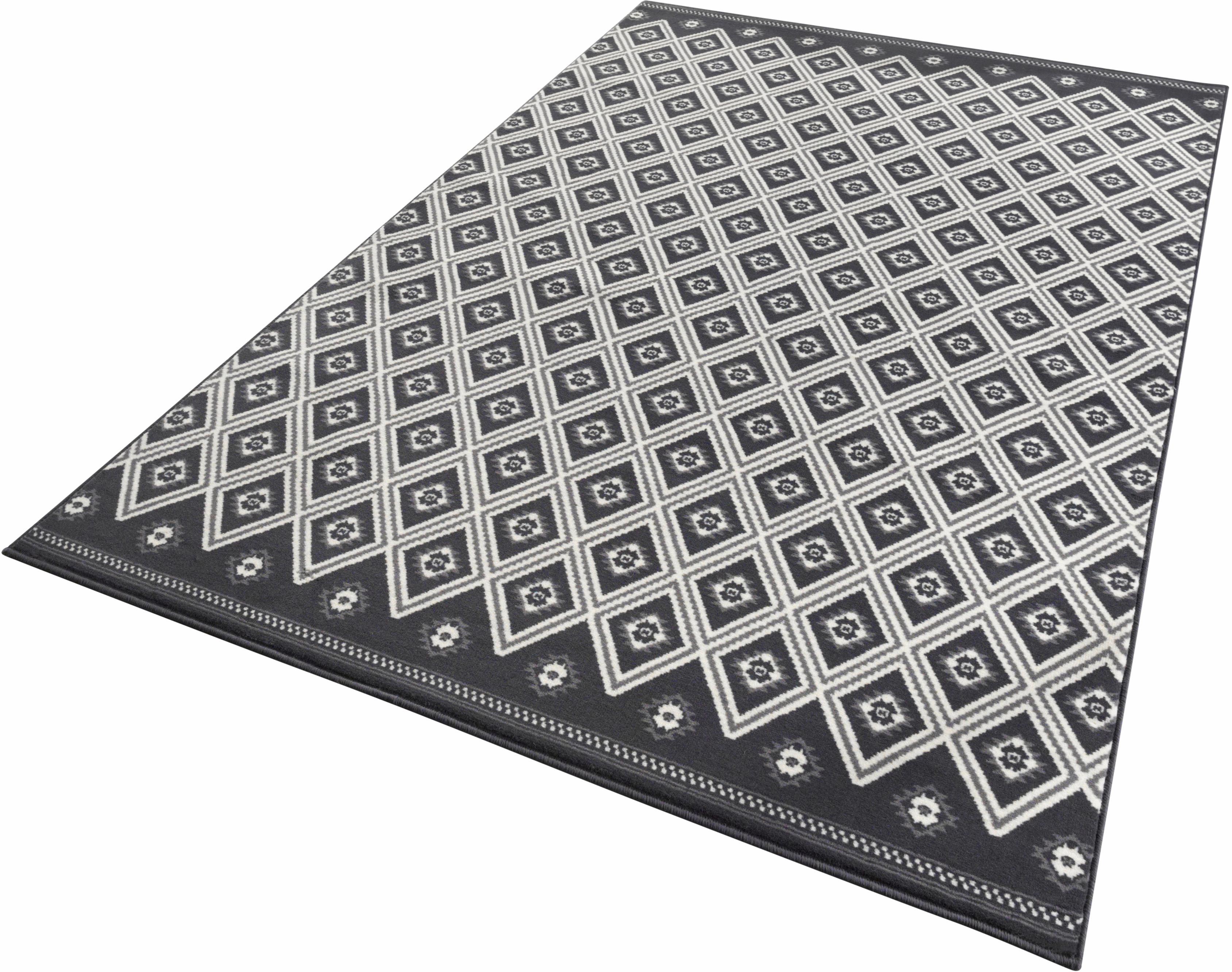 Teppich Karree Zala Living rechteckig Höhe 9 mm maschinell gewebt