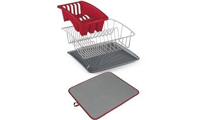 Metaltex Geschirrständer »Aquanet«, inklusive Softex-Abtropfmatte kaufen