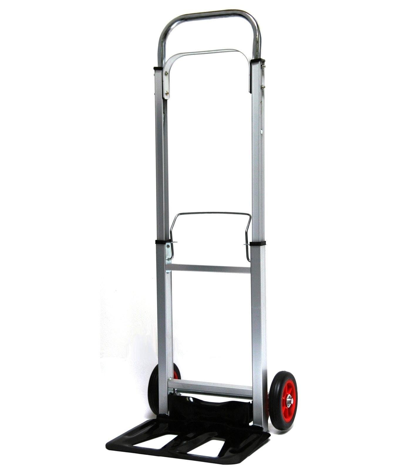 SZ METALL Sackkarre, klapp- und faltbar silberfarben Sackkarren Transport Werkzeug Maschinen Sackkarre