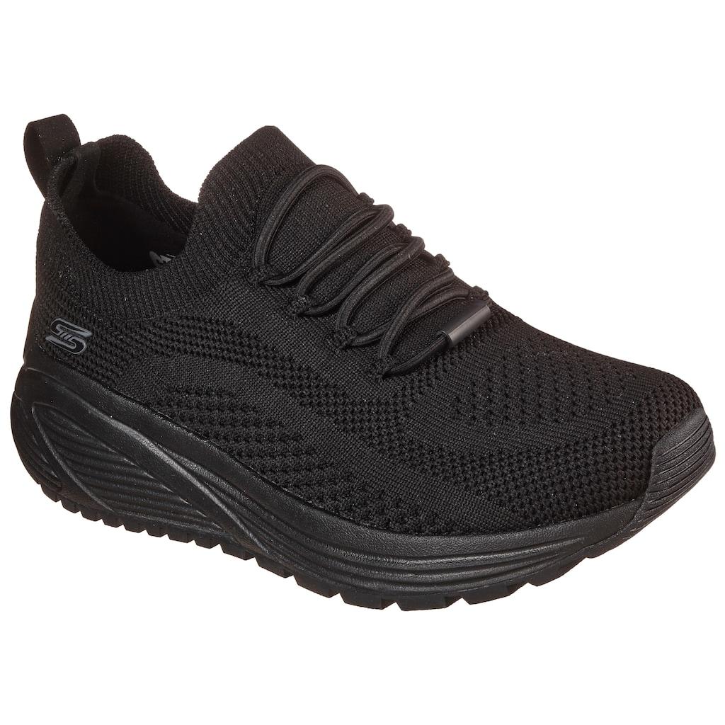 Skechers Slip-On Sneaker »BOBS SPARROW 2.0 - ALLEGIANCE CREW«, mit sockenähnlichem Einschlupf
