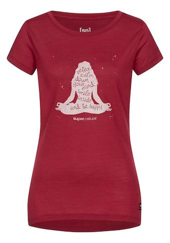 SUPER.NATURAL T - Shirt »W CALM DOWN TEE« kaufen