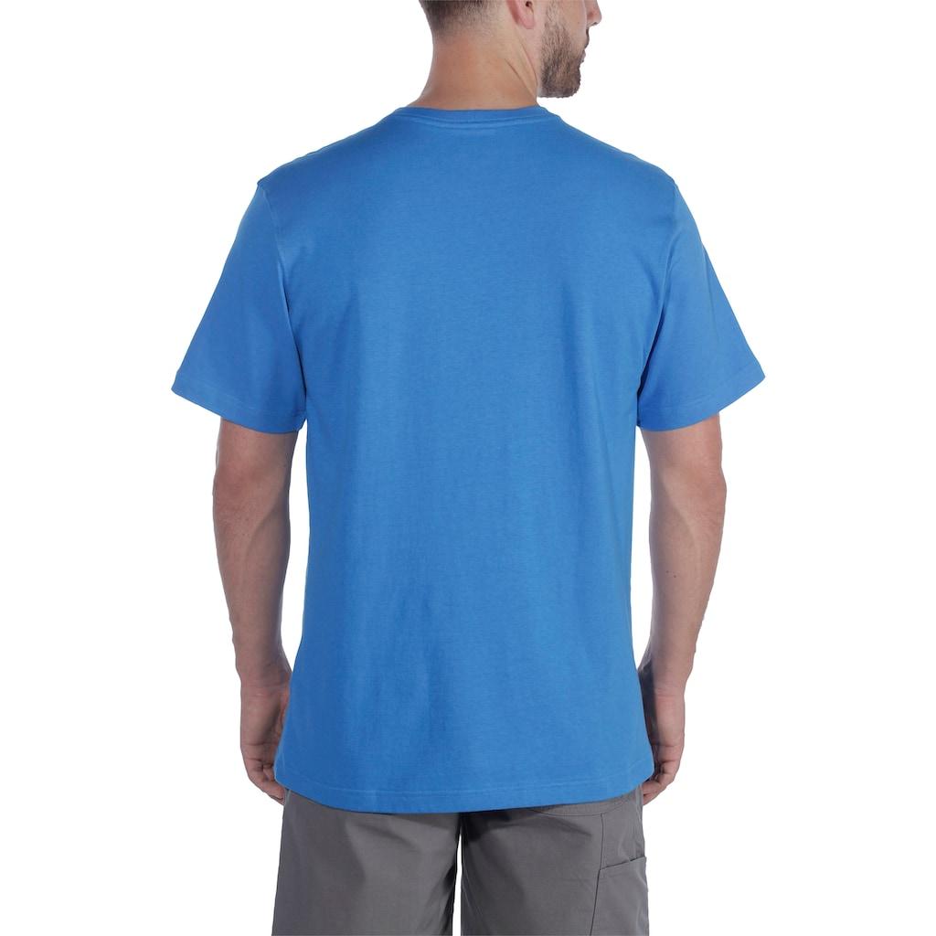 Carhartt T-Shirt »SOUTHERN BLOCK LOGO T-SHIRT S/S«, Kurzarm, mit Logo auf der Brust