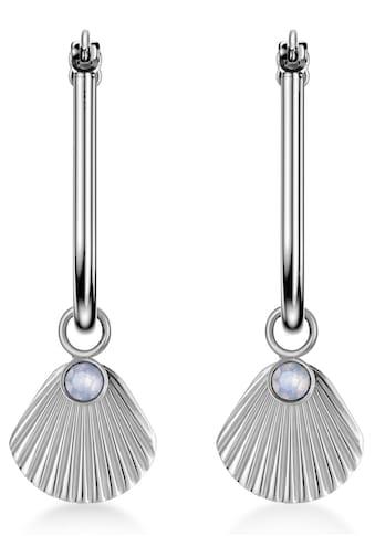 ROSEFIELD Paar Creolen »The Raye, JPHSCS-J257«, mit Swarovski-Kristallen und... kaufen