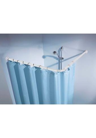 Kleine Wolke Winkelstange »Duschvorhangstange«, kürzbar, für Duschvorhänge, Länge 90 cm kaufen