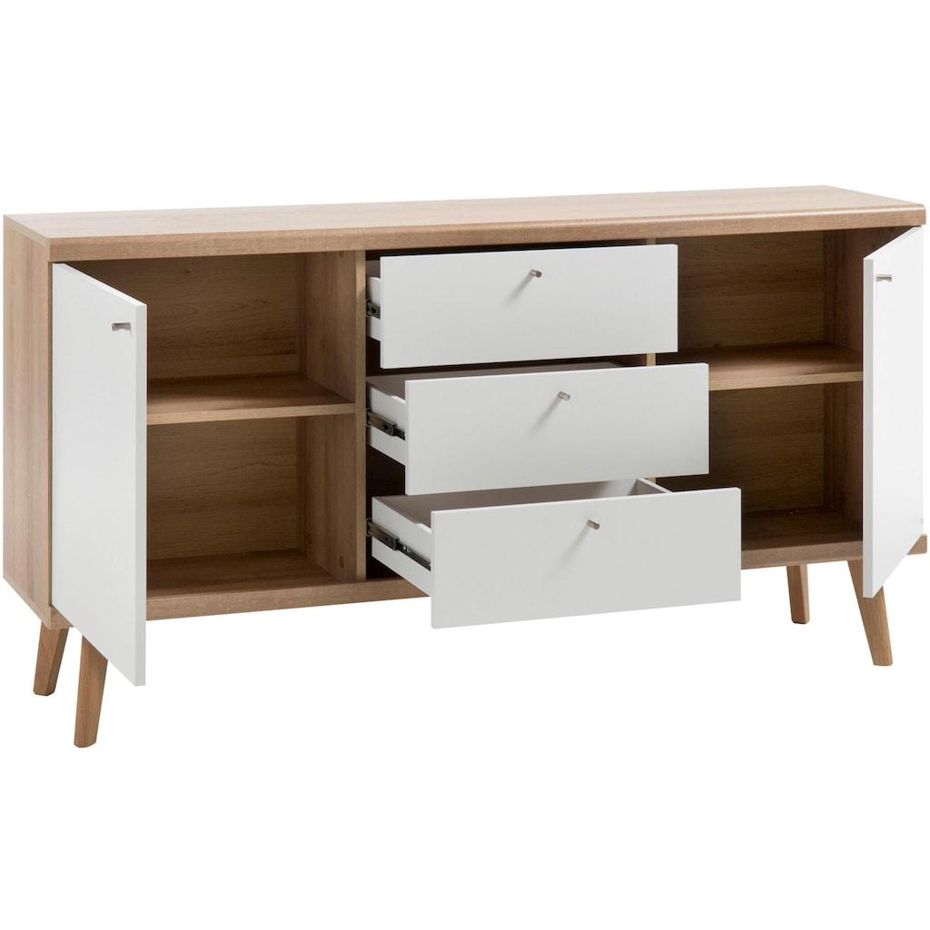 andas Sideboard »Merle«, im skandinavischen Design, Breite 160 cm