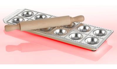 imperia Ravioliform »Ravioli Chef«, Aluminium, für 12 Ravioli, inkl. Nudelholz, Aluminium kaufen