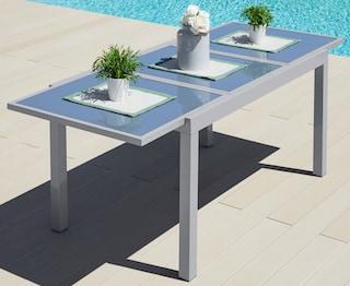 Gartentisch Amalfi Aluminium Ausziehbar Kaufen Baur