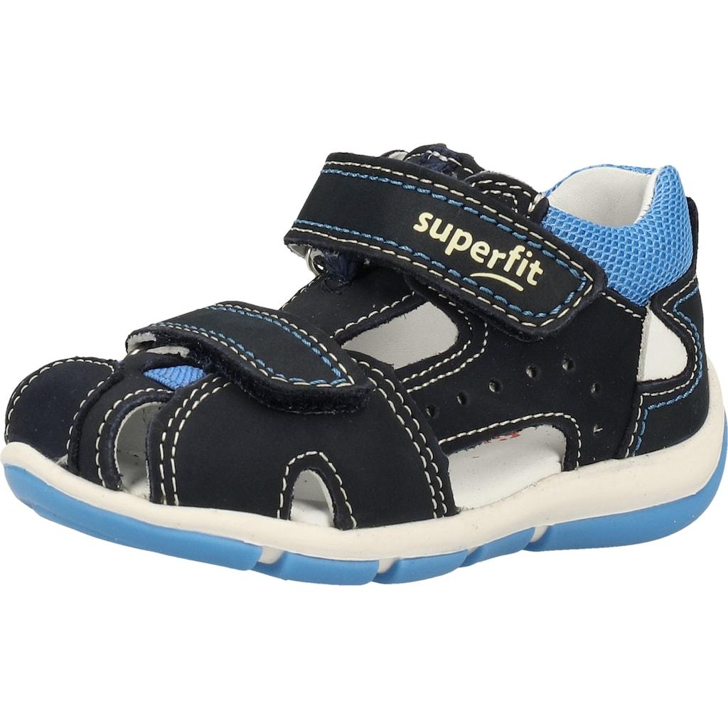 Superfit Sandale »Nubukleder/Textil«