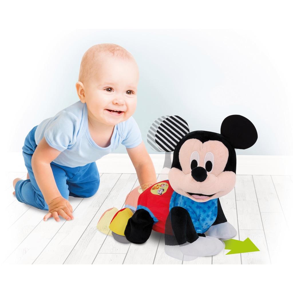 Clementoni® Plüschfigur »Baby, Krabbelnder Baby Mickey«, mit Soundeffekten