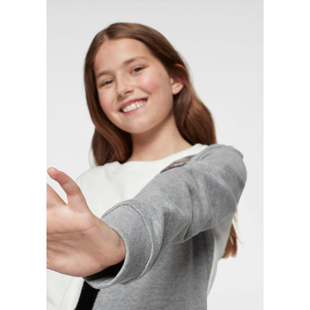 KIDSWORLD Sweatshirt, mit Wendepailletten