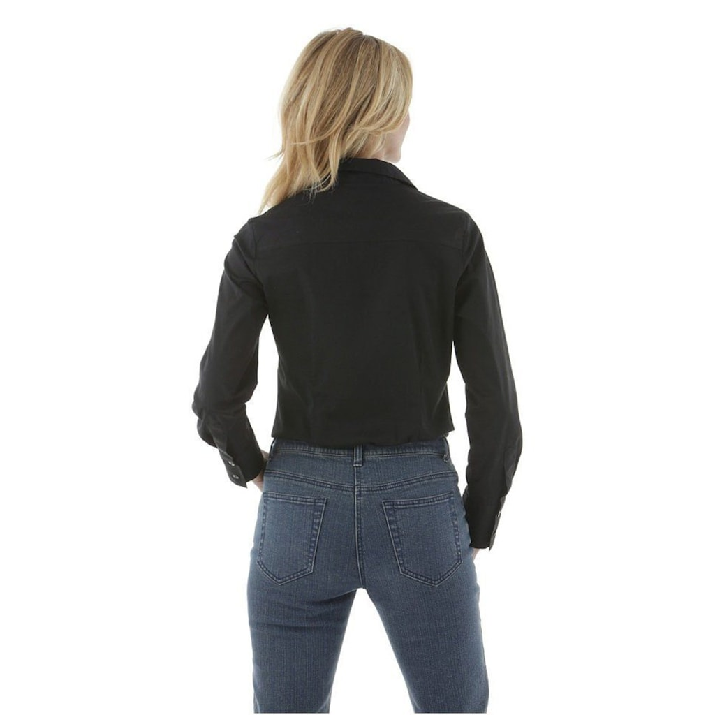 Aniston SELECTED Blusenbody, mit tiefem Ausschnitt
