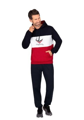 Trigema Jogginganzug, mit modischem Kapuzenshirt kaufen