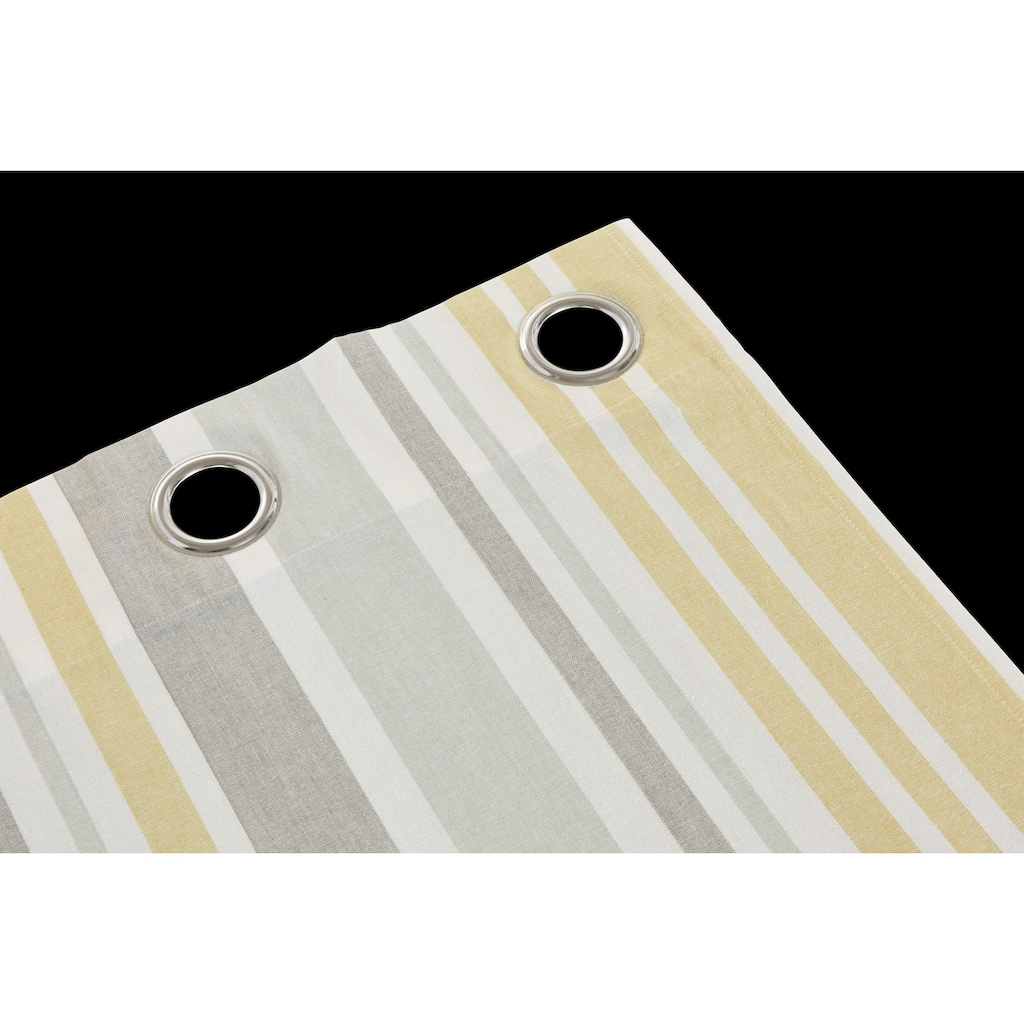 my home Gardine »Stripe«, Nachhaltig