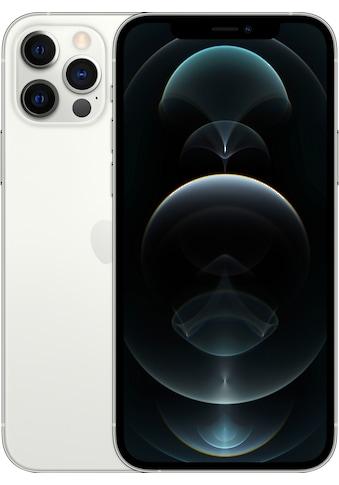 """Apple Smartphone »iPhone 12 Pro«, (15,5 cm/6,1 """" 512 GB Speicherplatz, 12 MP Kamera), ohne Strom Adapter und Kopfhörer, kompatibel mit AirPods, AirPods Pro, Earpods Kopfhörer kaufen"""