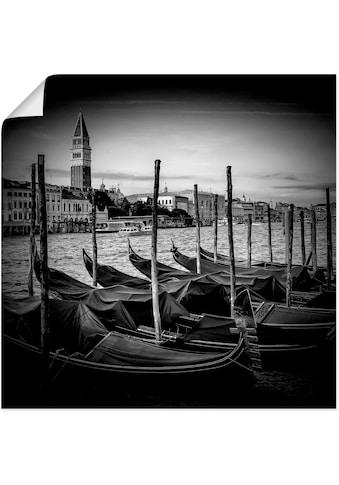 Artland Wandbild »Venedig Canal Grande & Markusturm«, Italien, (1 St.), in vielen... kaufen