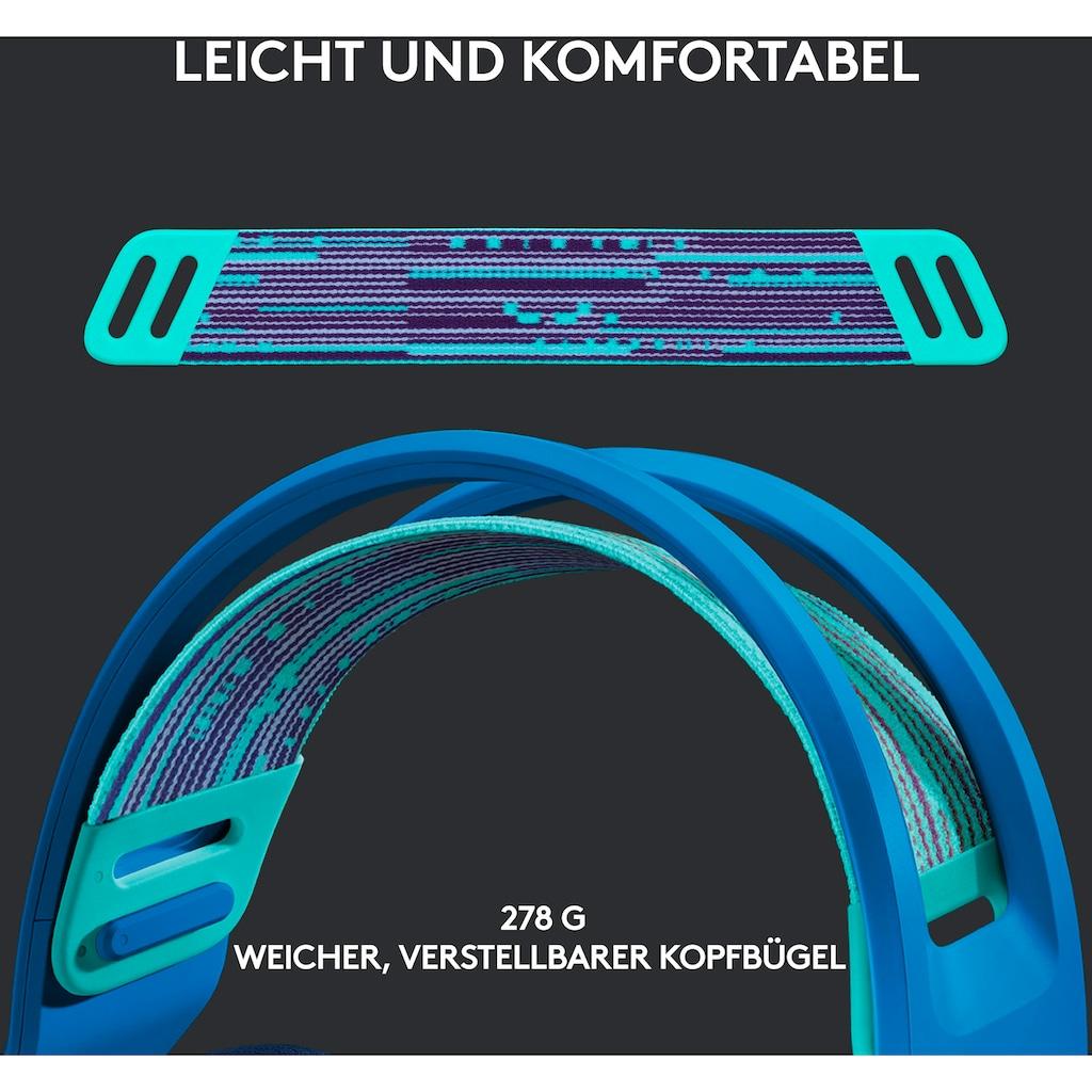 Logitech G Kopfhörer »G733 LIGHTSPEED Wireless RGB Gaming Headset«, Mikrofon abnehmbar
