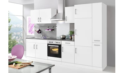 HELD MÖBEL Küchenzeile »Toronto«, mit E - Geräten, Breite 300 cm kaufen
