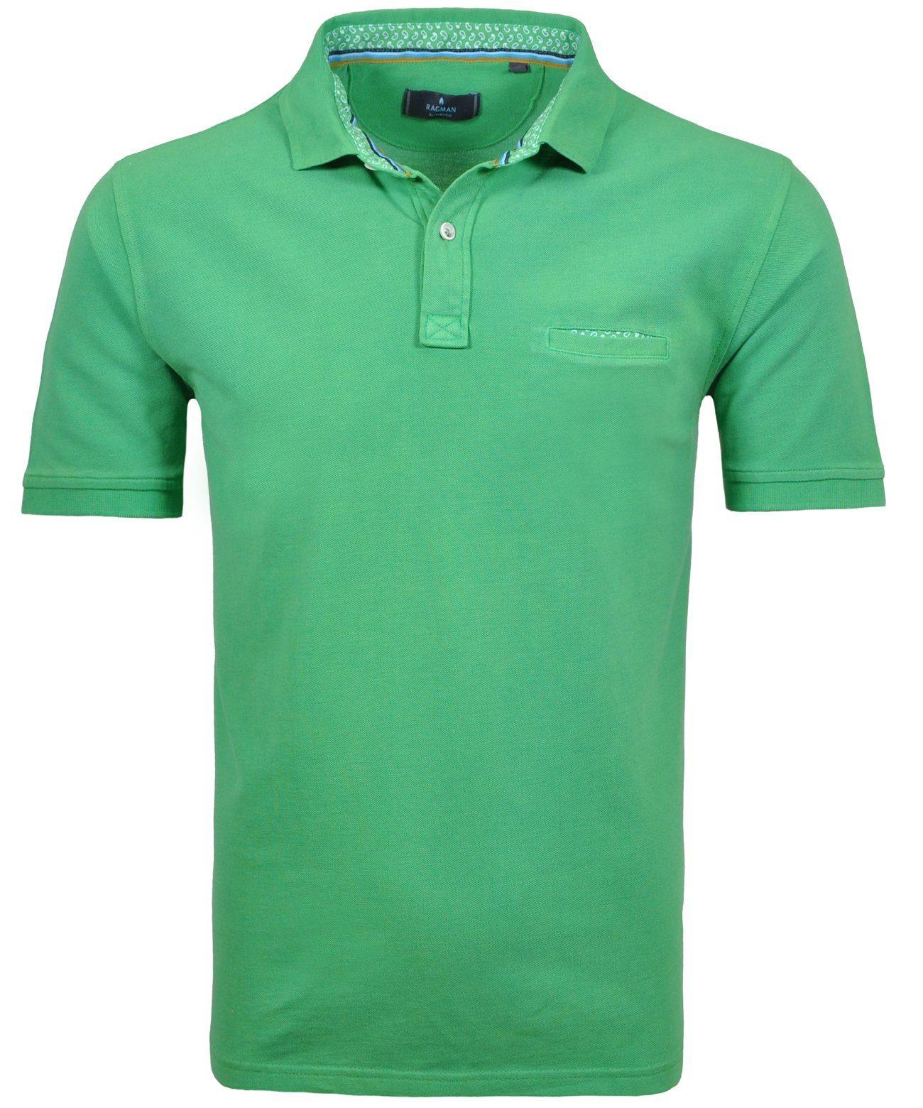 RAGMAN Poloshirt | Bekleidung > Polo Shirts > Kurzarm | Ragman