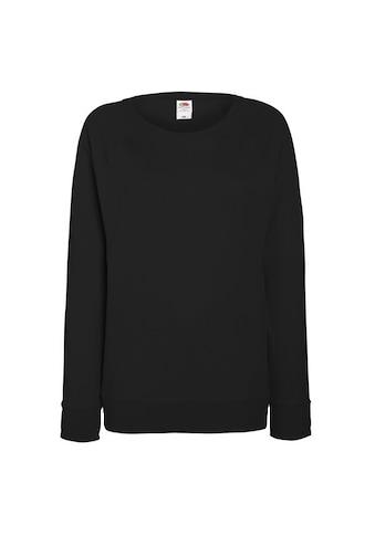 Fruit of the Loom Longsweatshirt »Damen Raglan Sweatshirt« kaufen