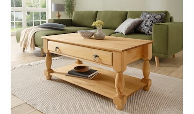 Home affaire Couchtisch »Sulm«, mit einem Schubkasten und einem Ablageboden kaufen