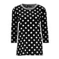 Aniston CASUAL Shirtbluse, mit Tupfen bedruckt