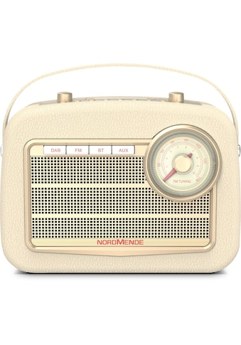 Nordmende Radio »Transita 130«, (Bluetooth Digitalradio (DAB+) 5 W), DAB+, FM,... kaufen