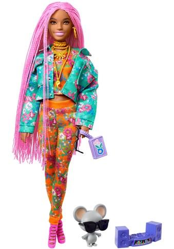 Barbie Anziehpuppe »EXTRA«, mit pinken Flechtzöpfen kaufen