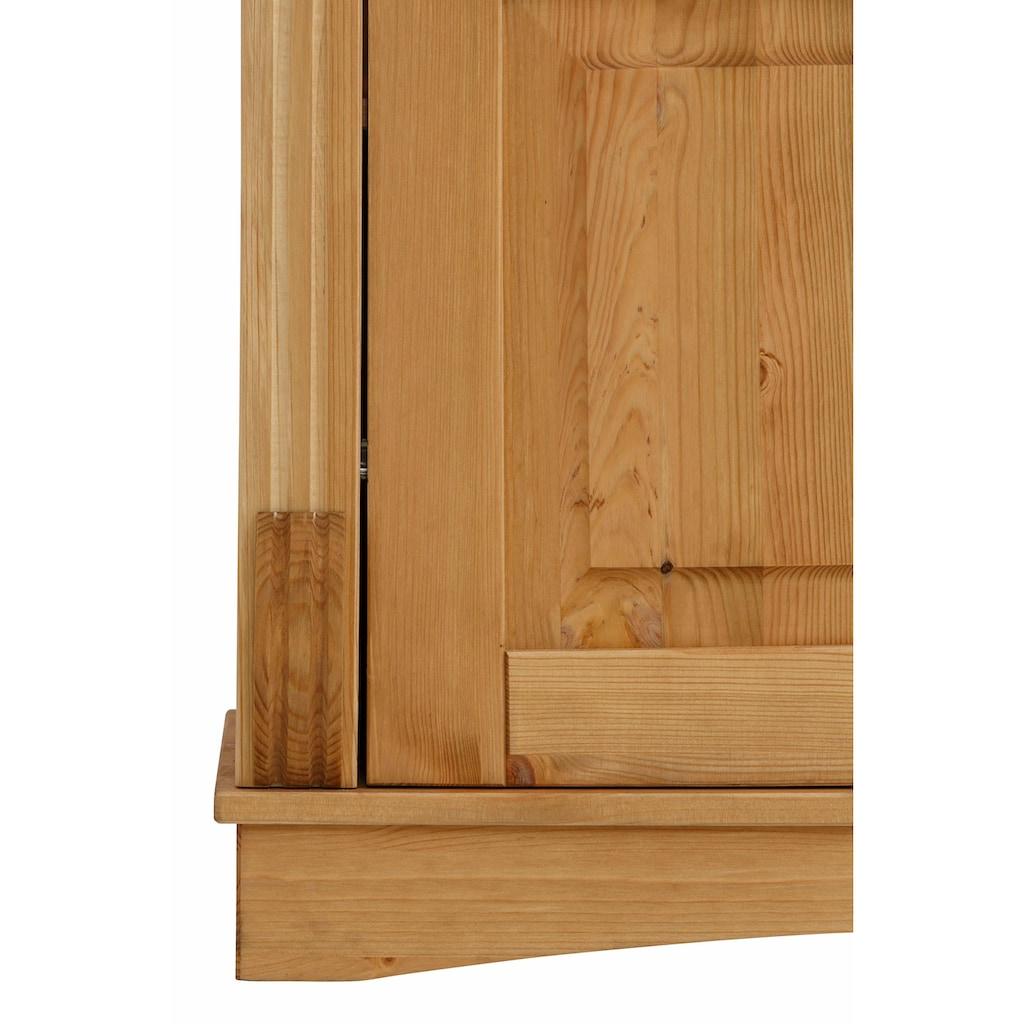 Home affaire Glasvitrine »Teresa«, mit 2 Glastüren, Höhe 193 cm