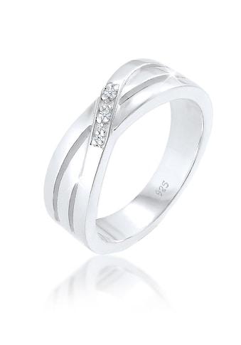 Diamore Diamantring »Cross Over Verlobung Diamant 0.03 ct. 925 Silber« kaufen