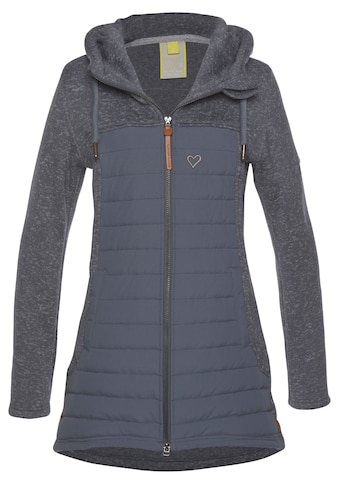 alife and kickin Strickfleecejacke »CharlotteAK Downlook« kaufen