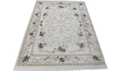 RESITAL The Voice of Carpet Teppich »Lara 360«, rechteckig, 11 mm Höhe, Kurzflor,... kaufen