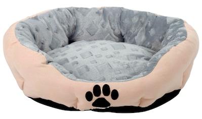 SILVIO DESIGN Hundekissen und Katzenkissen »Snow L«, B/L/H: 53/63/20 cm, sandfarben kaufen