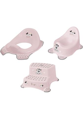 keeeper Töpfchen »Minnie, rosa«, (Set, 3 tlg.), Kinderpflege-Set - Töpfchen,... kaufen