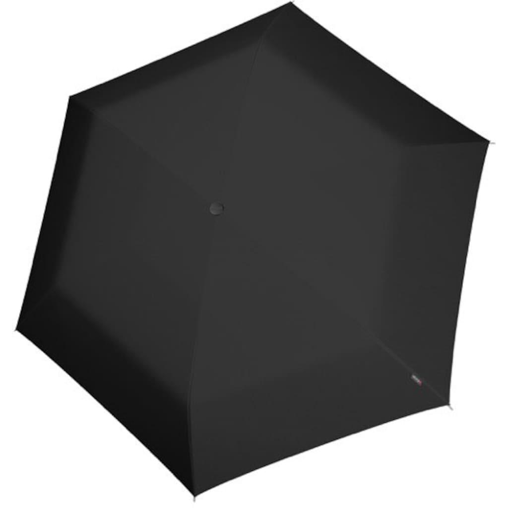 Knirps® Taschenregenschirm »US.050 Ultra Light Black«