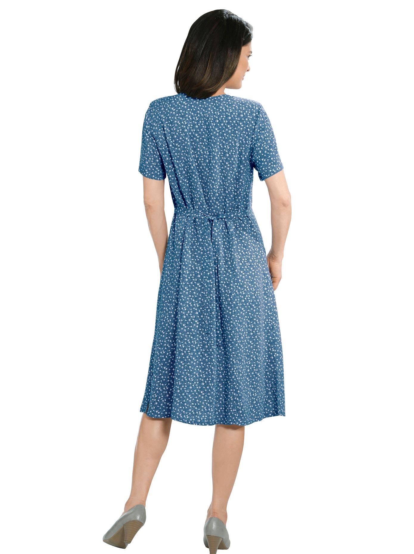 Classic Basics Kleid mit V-Ausschnitt