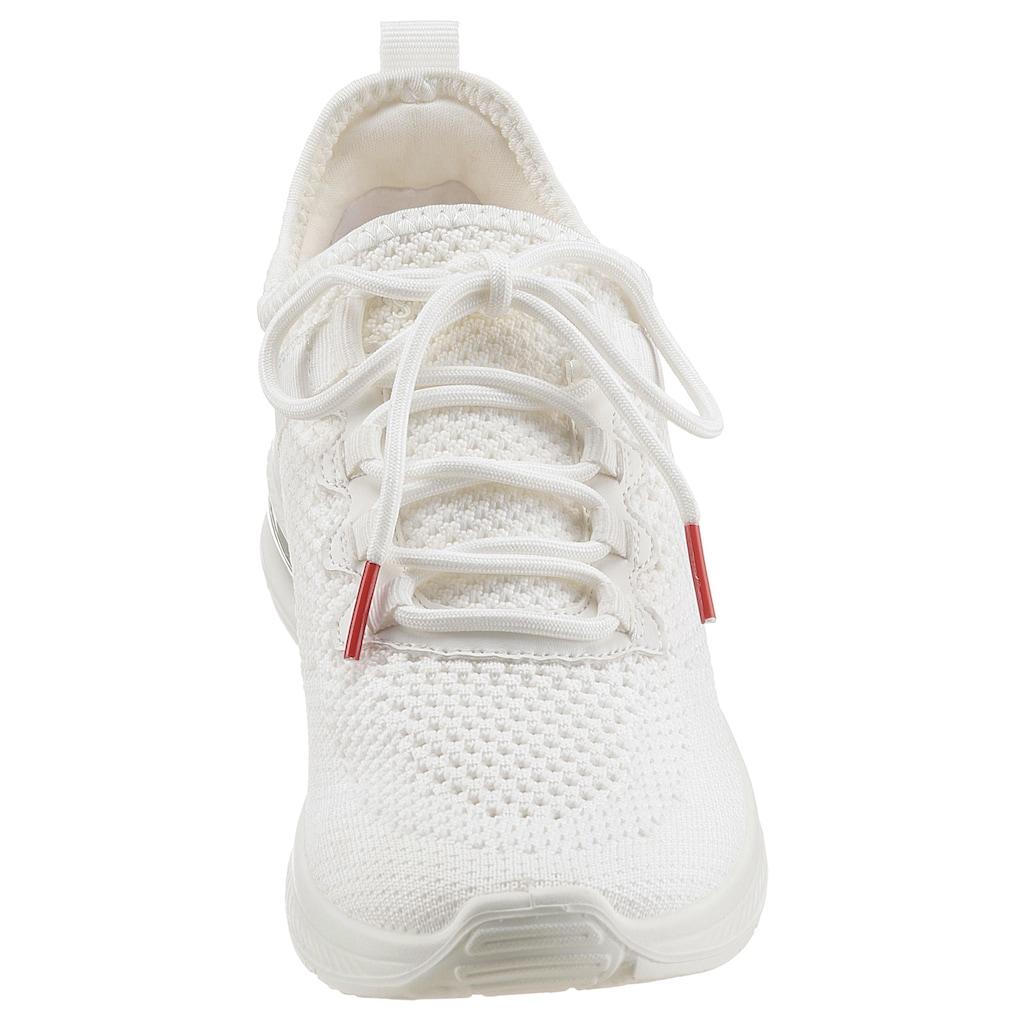 s.Oliver Slip-On Sneaker, mit aufgesetzter Schnürung