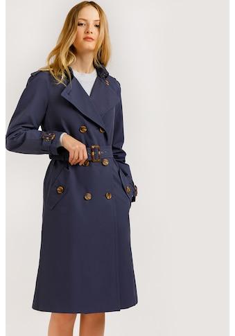Finn Flare Trenchcoat, in Mittellänge kaufen