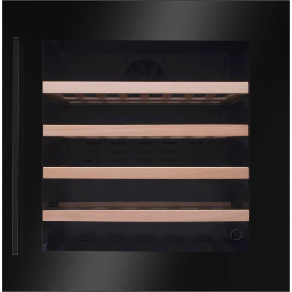 Amica Einbauweinkühlschrank »WK 341 210 S«, für 40 Standardflaschen á 075l, LED-Beleuchtung