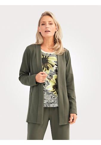 Mona Blusenjacke, mit breiter Blende am Ausschnitt kaufen