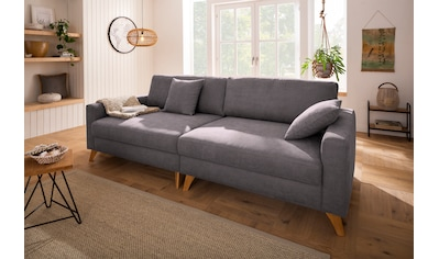 Home affaire Big-Sofa »Stanza Luxus«, Hohe Belastbarkeit pro Sitzplatz: 140kg. 2... kaufen
