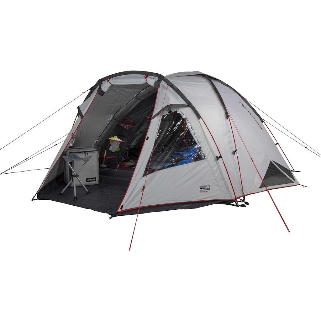 High Peak Kuppelzelt »Zelt Almada 4.0«, 4 Personen, (mit Transporttasche)