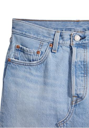 Levi's® Plus Jeansrock »Deconstructed Skirt«, mit ausgefranstem Saum kaufen