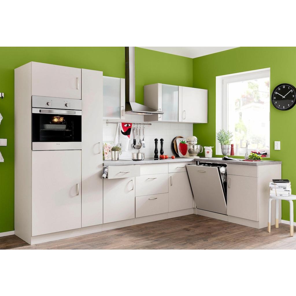 wiho Küchen Eckhängeschrank »Brüssel«