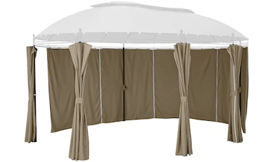 KONIFERA Seitenteile für Pavillon »Oval«, beige, 6 Stk kaufen