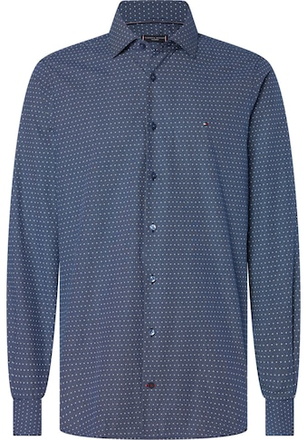 Tommy Hilfiger TAILORED Businesshemd »DOT PRINT CLASSIC SLIM SHIRT« kaufen