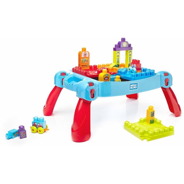 """MEGA BLOKS Spieltisch """"Mega Bloks Bau- und Spieltisch, 30 Teile"""""""