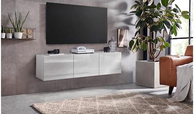 borchardt Möbel Lowboard »Sophia«, Breite 139 cm mit 3 Türen, stehend und hängend kaufen