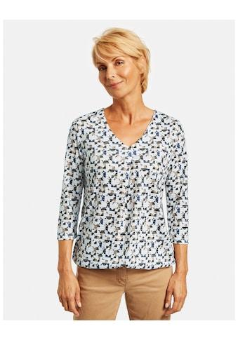 GERRY WEBER 3/4 - Arm - Shirt »3/4 Arm Shirt mit Alloverprint« kaufen