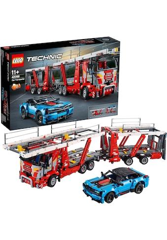 "LEGO® Konstruktionsspielsteine ""Autotransporter (42098), LEGO® Technic"", Kunststoff, (2493 - tlg.) kaufen"